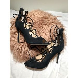 Vince Camuto Lace-Up Heels 🌵